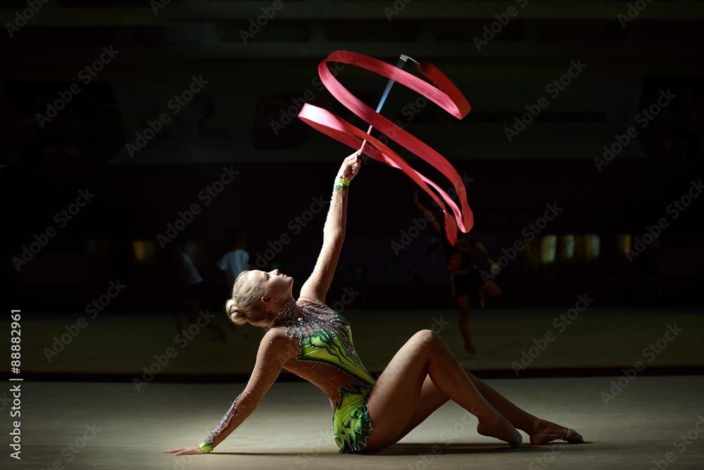 Fotomural gymnast