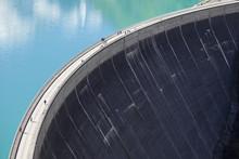 Concrete Dam Wall Of Kaprun - Zell Am See Water Reservoirs, Austria