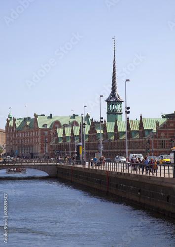 Photo  Danimarca, Copenaghen,un canale.