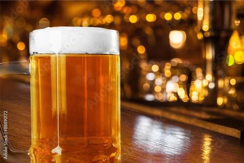 Biere, Cidre Beer Glass.