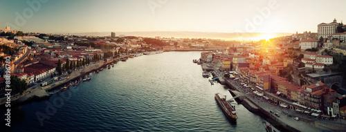obraz dibond Porto city panorama