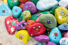Faces / Painted Stones With Fa...