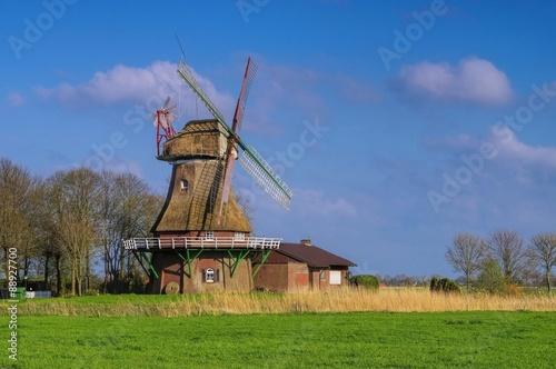 Poster Molens Stumpenser Muehle - windmill Stumpens 01