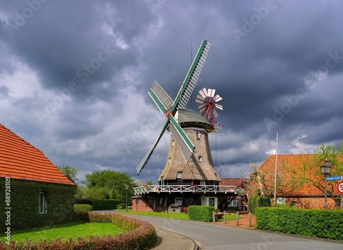 Poster Molens Accum Windmuehle - windmill Accum 01