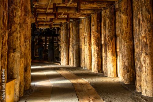 Fototapeta premium Corridor in Wieliczka
