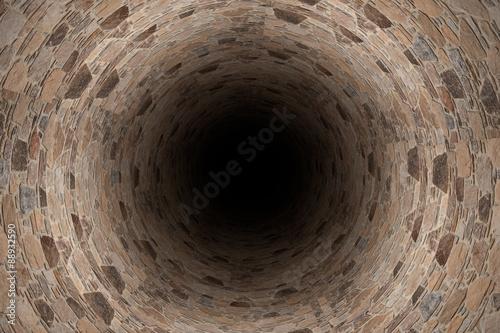 fototapeta na ścianę 3d tunnel