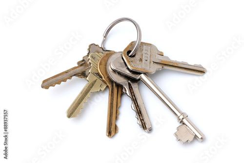 Fotografie, Obraz  Six Keys on a Ring