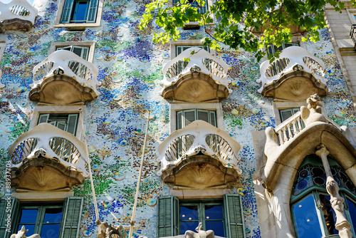 Photo  Casa Batllo fragment