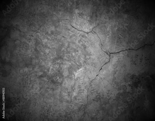 Papiers peints Beton cracked stone wall background