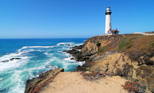 Pigeon Point / Pigeon Point Lighthouse South Of San Francisco California