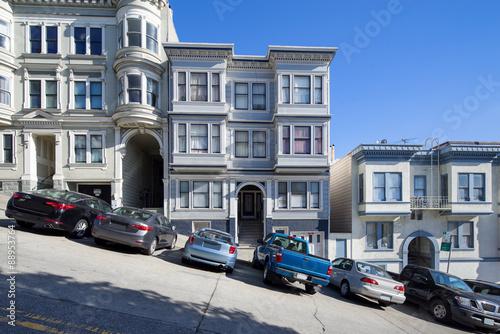 Keuken foto achterwand San Francisco San Francisco Lombard street