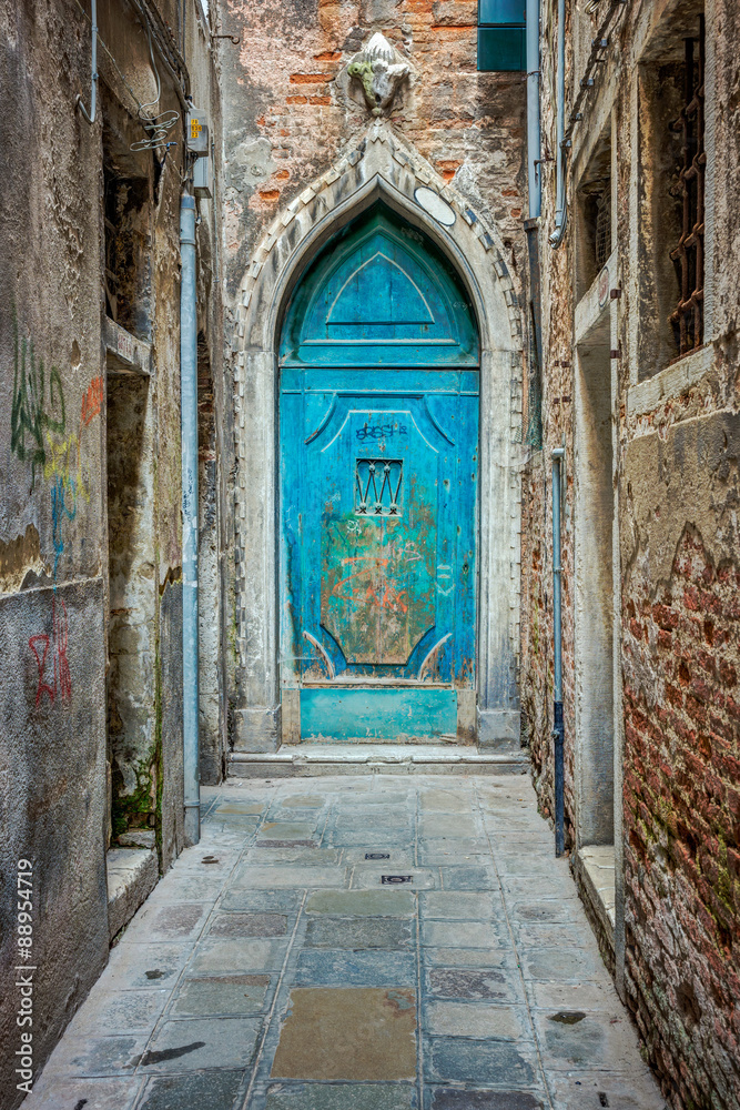 Fototapeta Door in Venice
