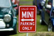 Mini Cooper's Parking