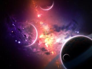 Planets and Nebulas