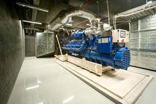 Diesel Generator Unit In Gener...