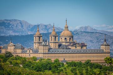The Royal Seat of San Lorenzo de El Escorial, historical residen