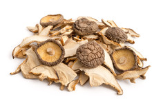 Getrocknete Shiitake-Pilze