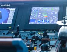 Ship Controls And Data Screen