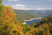Fontana Lake In The Fall