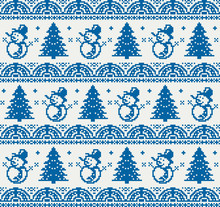 Christmas Pixel Pattern