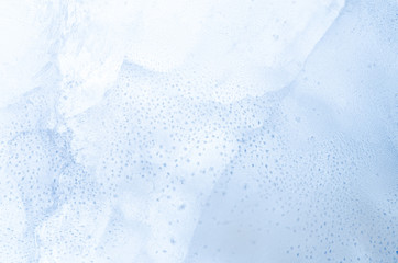 blue ice background texture