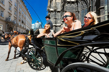 Vienna, St. Stephen's Cathedral, Fiaker Ride