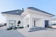 Leinwanddruck Bild - Enormous modern villa