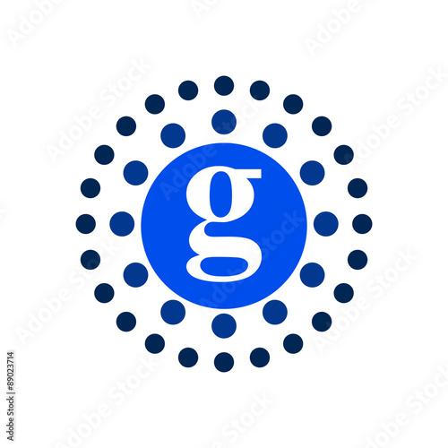 G Molecule Icon Logo Vector - Buy this stock vector and