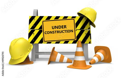 Obraz Under construction - fototapety do salonu