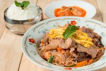 Korean Traditional Food. Stir ...