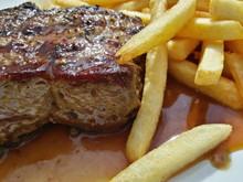 Saftiges Steak - Nahaufnahme