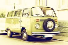 Alter Kleiner Transporter