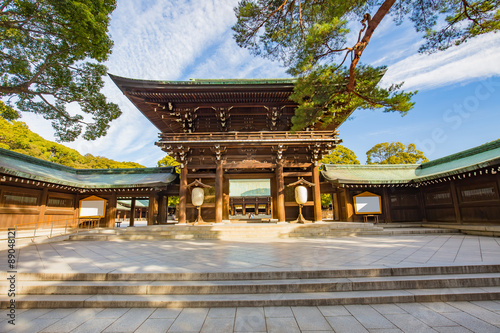 Foto auf AluDibond Tokio Meiji-jingu shrine in Tokyo, Japan