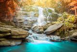 A big beautiful waterfall