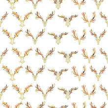 Seamless Pattern With The Antl...