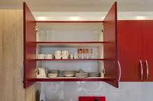 Kitchen Cupboard In Living Room
