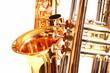 Saxofon und Trompete