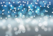 Winter holidays scene, snowy landscape. Bokeh effect; illustration; can serve as a background.
