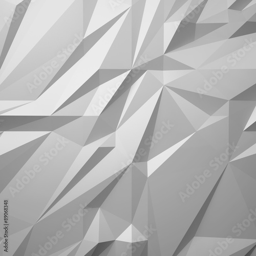 abstract white background low poly