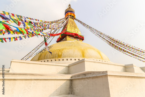 Foto op Aluminium Nepal Huge buddhist stupa, Nepal