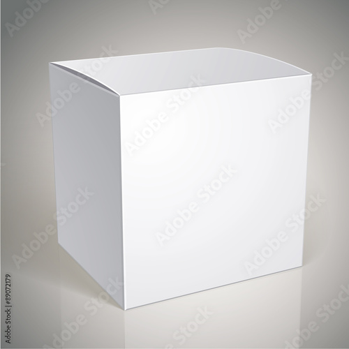 Vector Blank Box Template For Your Package Design Put Ima