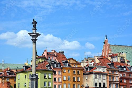 fototapeta na szkło Warschau, Altstadt