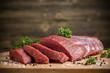 Leinwandbild Motiv Beef meat