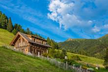 Old Wooden Hut Cabin