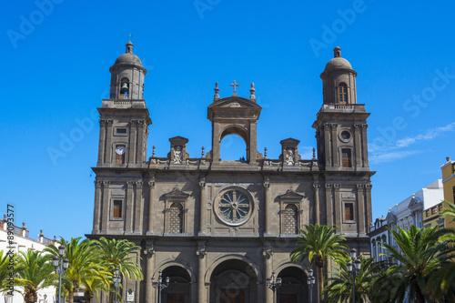 Santa Ana Cathedral in Las Palmas de Gran Canaria, Spain