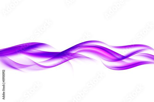 Obraz abstract purple wave background - fototapety do salonu
