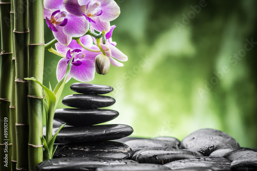 Obraz zen stones - fototapety do salonu