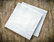 White Paper Napkins