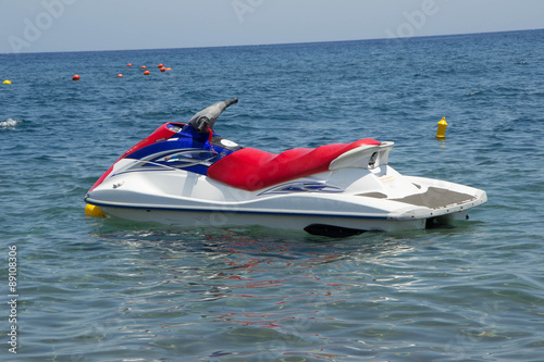 Poster Nautique motorise 589 - watercraft