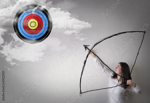 Photo  Young archer